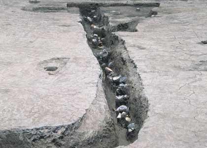 下田町遺跡:古墳時代の大溝