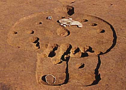 大宮西部:縄文時代後期の敷石住居