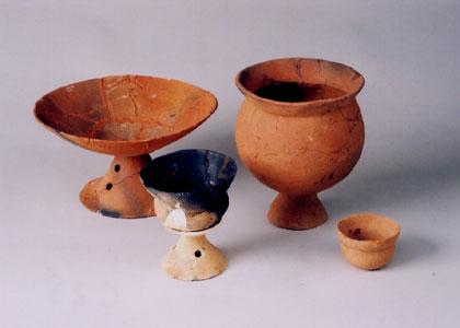 古墳時代の土器セット