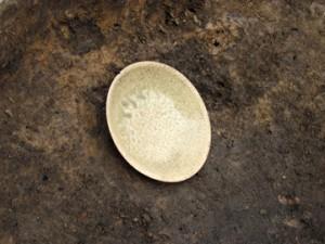 青柳古墳群:灰釉陶器出土状況