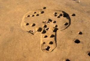 前領家遺跡:縄文時代後期の柄鏡形住居跡