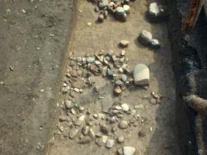 宮沢遺跡:第1号集石
