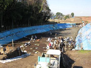 長竹遺跡:縄文時代の調査面