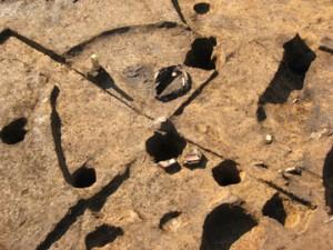 中道・中道下遺跡:縄文時代の竪穴住居跡