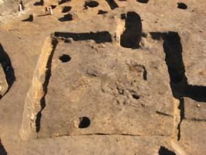 中道・中道下遺跡:平安時代の竪穴住居跡