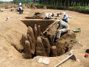 大平遺跡:縄文中期前半住居跡炉