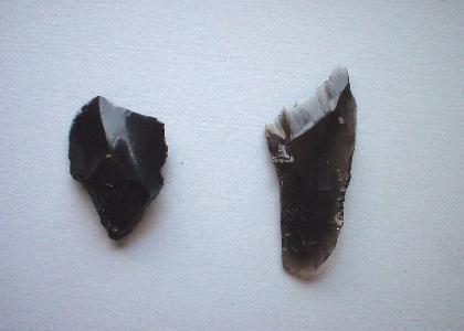 清河寺前原遺跡第2地点:台形様石器1