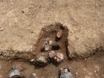 下田遺跡:古代の水田の床土から平安時代の土器が出土