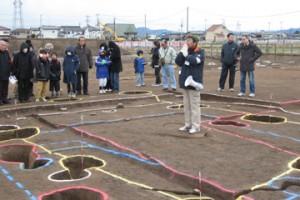 皿沼西遺跡:奈良・平安時代の掘立柱建物跡