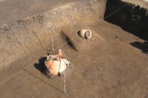 皿沼西遺跡:古墳時代の竪穴住居跡に造られたカマド
