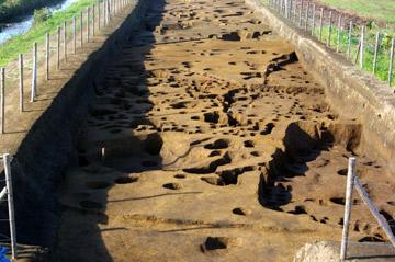 清左衛門遺跡:縄文時代晩期の住居跡群