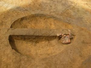 高木道下遺跡:縄文時代中期の土壙