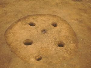 牛原遺跡:縄文中期前半住居跡