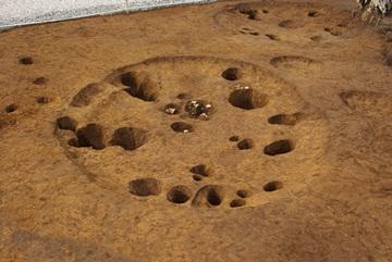 縄文時代中期の住居跡