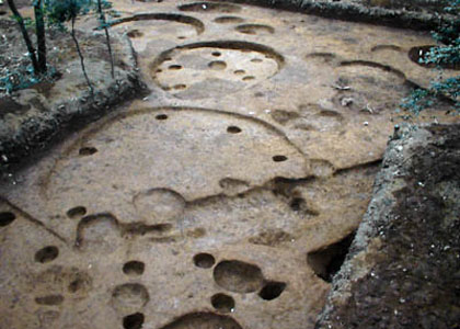 戸崎前遺跡第12次:縄文時代の住居群