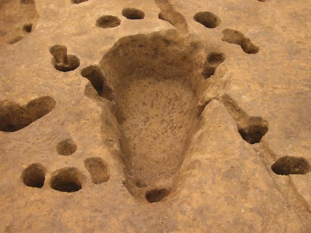 荒川附遺跡:土師器焼成遺構