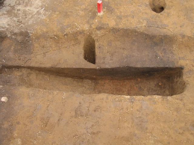 荒川附遺跡:土師器焼成遺構半截