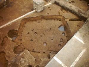 馬場裏遺跡:第5号住居跡完掘状況