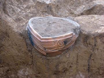 高麗石器時代住居跡遺跡:埋甕(うめがめ・SJ-6)