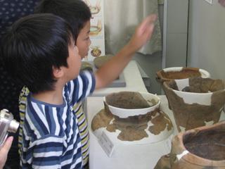 神ノ木2遺跡:遺物展示室