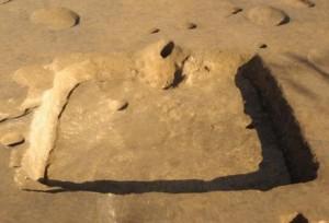 前領家遺跡:平安時代の竪穴住居跡(第4号住居跡)