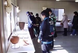 前領家遺跡:圏央道関係の出土遺物も展示しました