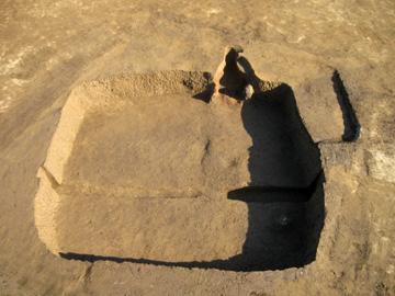 長竹遺跡:竪穴住居跡(平安時代)