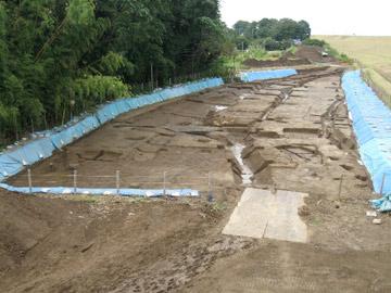 長竹遺跡:奈良・平安時代以降の調査面