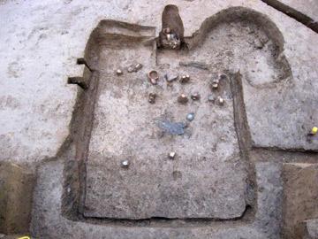 長竹遺跡:平安時代の竪穴住居跡