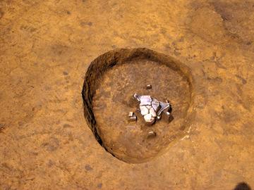 中井遺跡:縄文時代中期の土壙