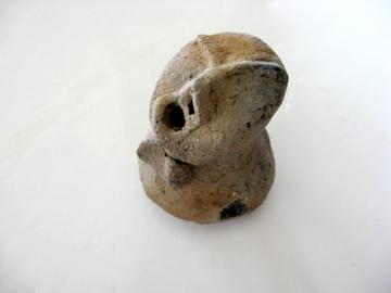 小林八束1遺跡:手のひらサイズの土偶