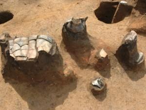 大木戸遺跡第13地点:住居跡から出土した縄文土器