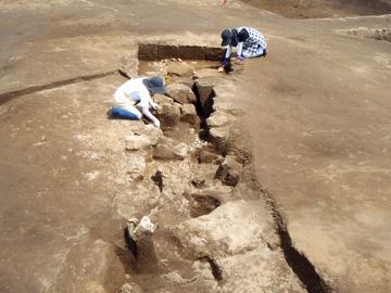 楽中遺跡:縄文時代中期の土壙