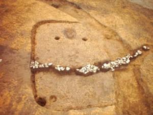 杉の木遺跡:弥生時代後期の竪穴住居跡