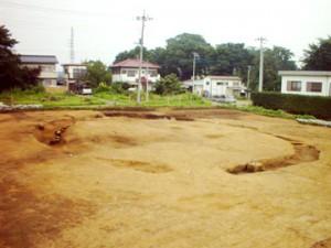 杉の木遺跡:古墳時代後期の円墳