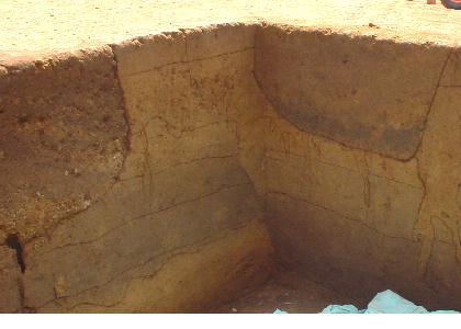 清河寺前原遺跡第2地点:土層と断層