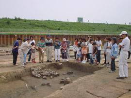 古墳時代の住居跡