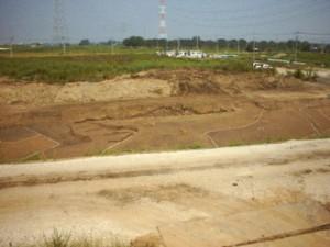 反町遺跡第4号墳(前方後円墳)