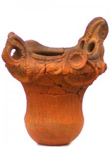 諏訪野遺跡:縄文土器(縄文時代中期)