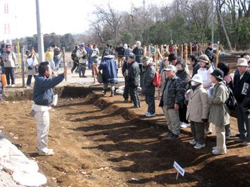 諏訪野遺跡:江戸時代の道路遺構