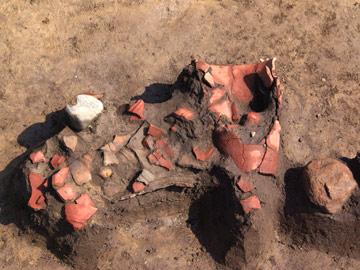 塚原古墳群:縄文時代の集落