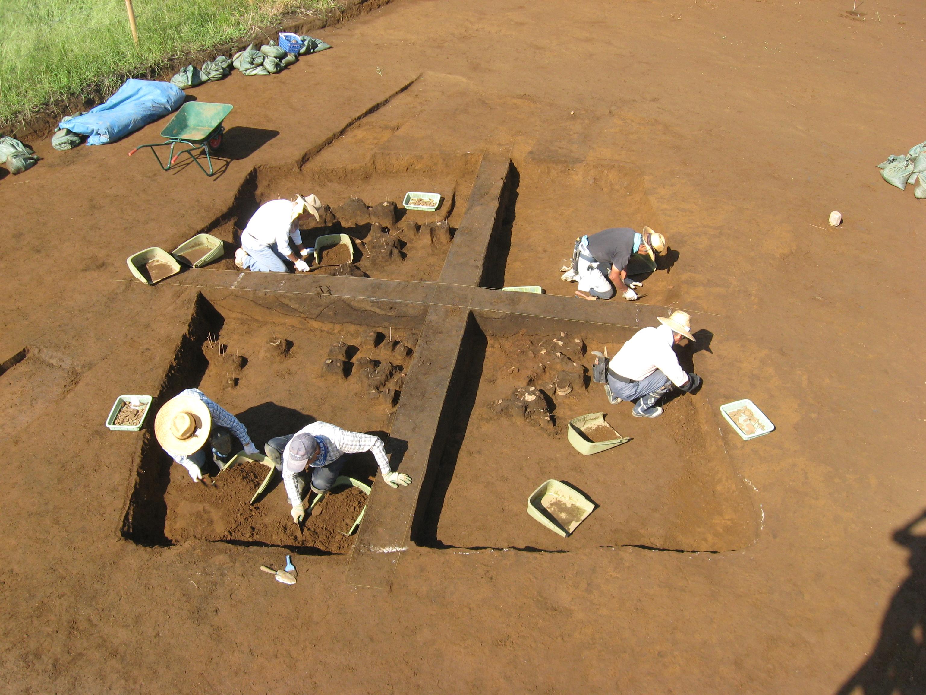 槙野地原遺跡:縄文時代前期住居跡